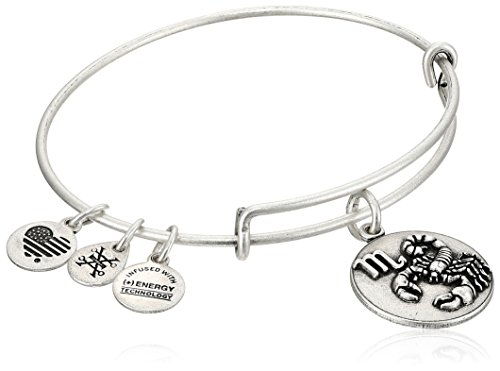 Alex and Ani Scorpio Rafaelian Silver Bangle Bracelet by Alex and Ani