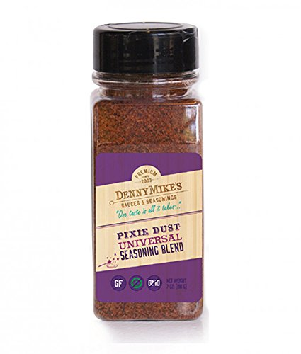 Barbecue Spice Rub - Pixie Dust Universal Premium Seasoning Blend - 7oz Shaker - Gluten Free.