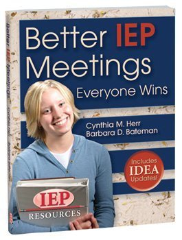Better IEP Meetings Everyone Wins