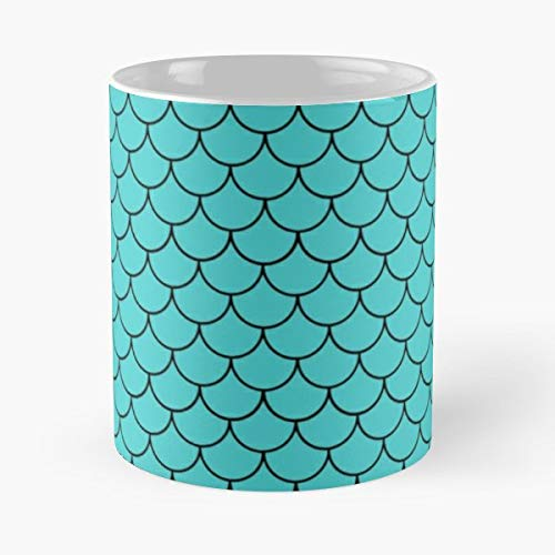 Mermaid Costume Halloween Scales - Funny Sophisticated Design Great Gifts -11 Oz Coffee Mug.the Best Gift For Holidays.]()
