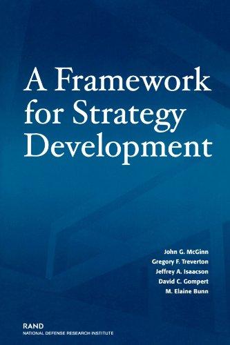 A Framework for Strategy Development