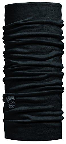 Buff Black (Merino Wool Buff) - One - Black