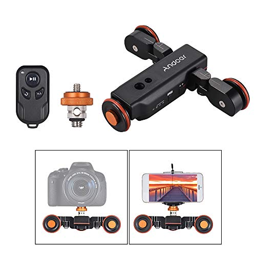 Andoer 3-Wheels Wirelesss Camera