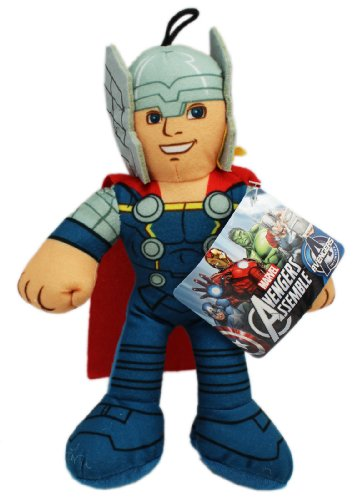 Marvel  15 Inch Avengers Assemble Thor Stuffed Plush Doll]()