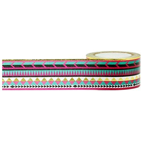 Little B 102079 Gold Foil Tribal Decorative Foil Tape