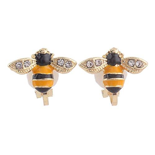 animal clip on earrings - 9