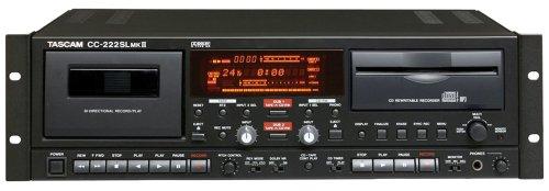 TASCAM CC-222SLmkII Slot-loading CD & Cassette Recorder
