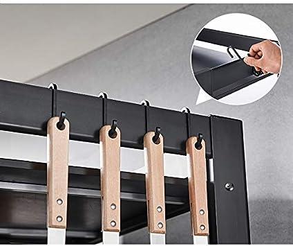 Rejilla De Horno De 2 Capas Rejilla De Almacenamiento Para Cocina Estante De Almacenamiento Y Especia CQQ Rejilla De Horno Multifunci/ón Para Microondas Rejilla De Aluminio Para Horno De Microondas