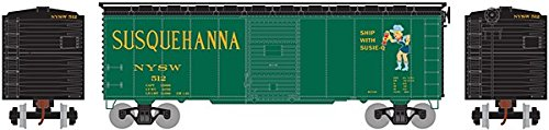 - Athearn - HO RTR 40' Youngstown Door Box, NYS&W #512