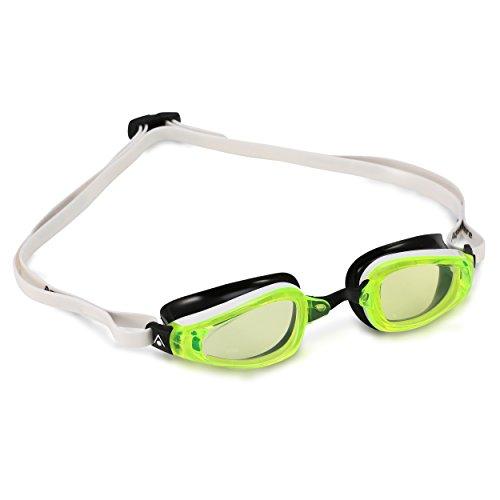 7c39ef22f291 MP Michael Phelps K180 Goggles - LimeLens White Black.  19.99. Brand  Aqua  Sphere
