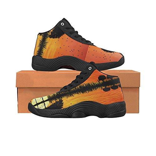 D-story Arreglos De Árboles En Una Forma De Una Guitarra Zapatos De Baloncesto Zapatillas De Correr Boost Sneakers