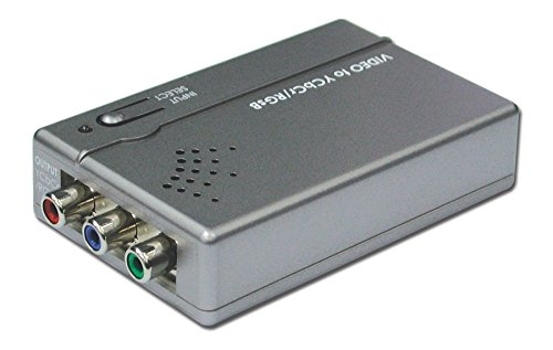 Composite S Video to Component RGB Multi Media Format Converter (Component Video S-video Adapter)