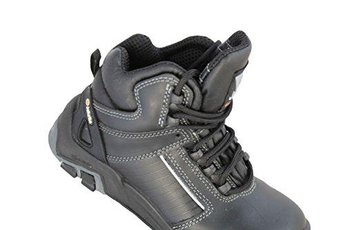 jallatte jalviggen X2S3HRO CI SRC Zapatos de seguridad Zapatos de Senderismo Negro Negro - negro