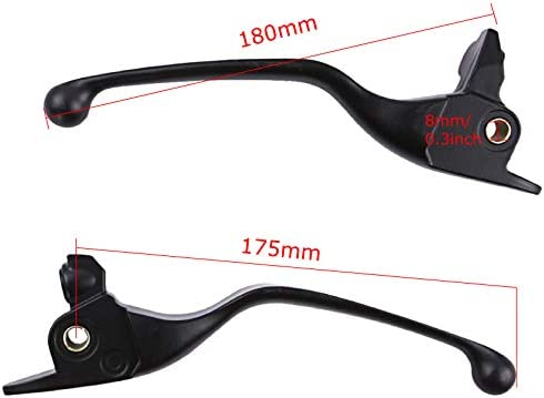 Brake and Clutch Lever for 17-19 Harley-Davidson Touring 19-later Trike 41700422A Matte Black