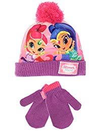Shimmer & Shine Girls' Genies Hat and Gloves Set One Size
