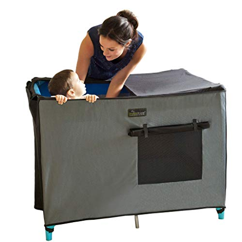 SnoozeShade Pack N Play Crib Canopy and Tent