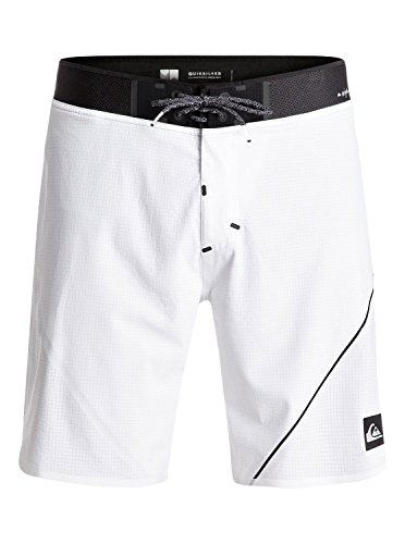 Quiksilver mens New Wave Highline 19, White, 34 by Quiksilver