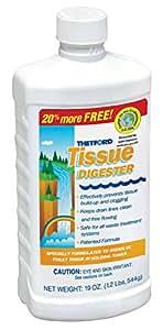 Thetford RV Tissue Digester 15844, 19 oz. Bottle