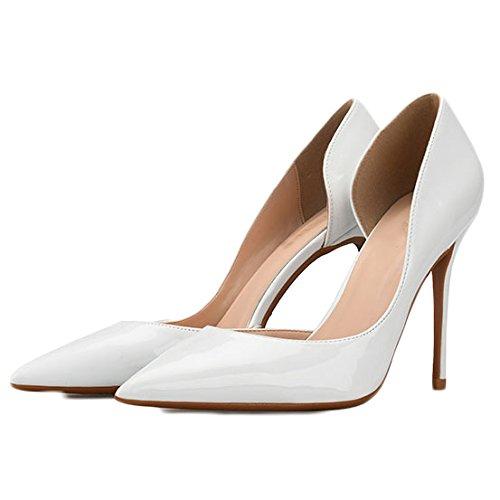 Mariage Mode 38 White UK Travail Talons Hauts 5 Sexy Noir De Cour 6cm EU 5 Chaussures Femme CxqHwzOtR