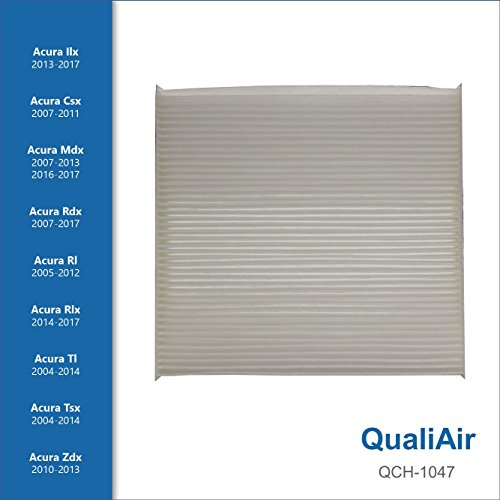 QualiAir QCH-1047, Cabin Air Filter for Honda, Acura
