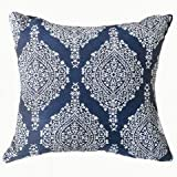 Best Benzara Beddings - IDA Contemporary Small Pillow With fabric, Blue Finish Review