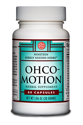 OHCO MOTION 60 Capsules - Natural and Herbal Nutritional Dietary Supplement - Take Pre-Workout, Post-Workout - Energy Boost - Support for Active, Growing and Aging Bodies