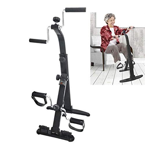 Dbtxwd Exercise Bike Arm and Leg Exerciser, Arm & Leg Exercise Peddler Machine, Portable Pedal Exerciser, Fitness…