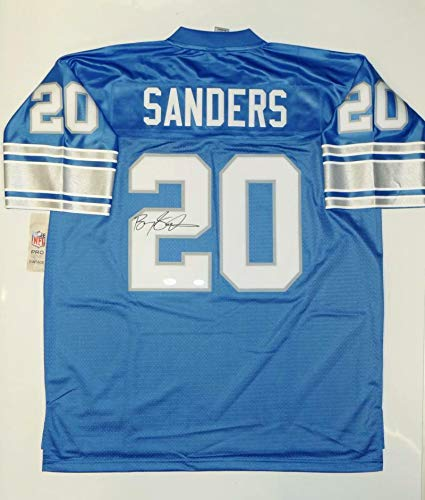 buy popular 2ed51 cf395 Barry Sanders Autographed Jersey - Trainers4Me