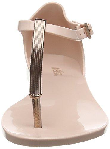 Melissa Honey Chrome - Sandalias de tobillo Mujer Pink (blush Rose)