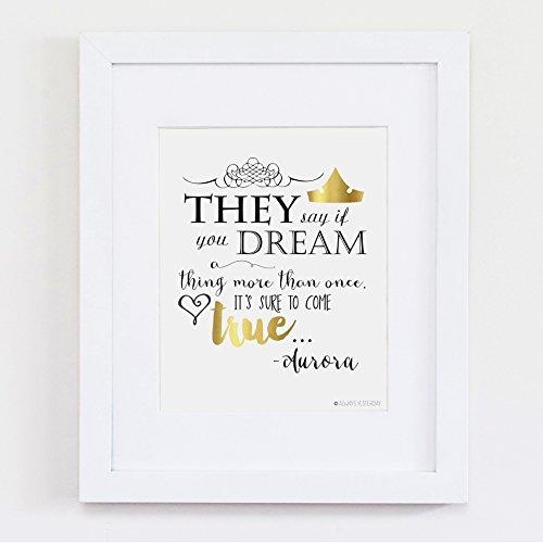 Amazon Disney Princess Quote Princess Aurora They Say If