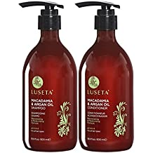 Luseta Macadamia & Argan Oil Shampoo & Conditioner 16.9oz x 2