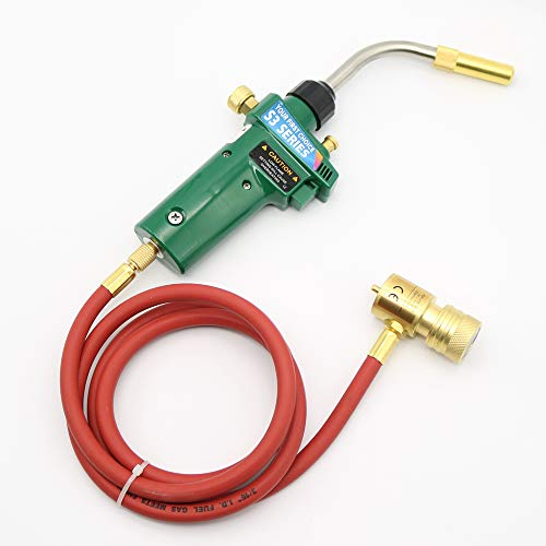 Gas Self Ignition Turbo Torch Solder Propane MAPP Welding Gas Torch with Hose