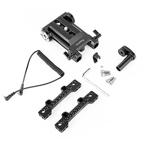 SmallRig Camere Accessories Rig for Sony PXW-FS5, with Top Plate, Base Plate, Cable, Clamp Adapter - 1861 by SmallRig