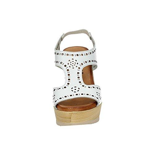 Sandales Femme Blanc Dliro Sandales Dliro zqt1p