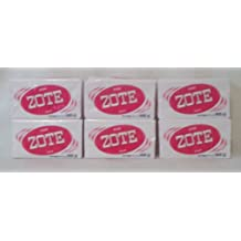 Pink ZOTE Laundry Whitening Soap (6 Bar Pack)