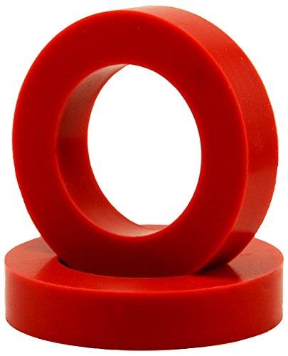 "Eurotubes ""EuroDamper"" Tube Damper Rings for Octal Base Power and Rectifier Tubes. One Pair. by Eurotubes"