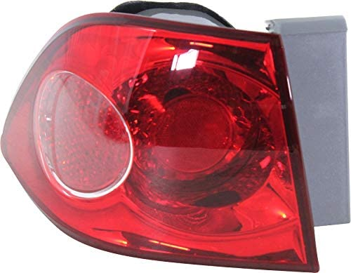 Tail Light Assembly Compatible with 2006-2008 Kia Optima Outer New Body Style From 7-2006 Driver Side