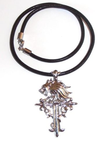 Final fantasy gothic squall griever necklace cross amazon final fantasy gothic squall griever necklace cross aloadofball Image collections