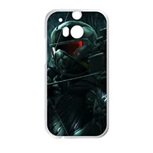 crysis 3 the hunted becomes the hunter HTC One M8 Cell Phone Case White PSOC6002625669369