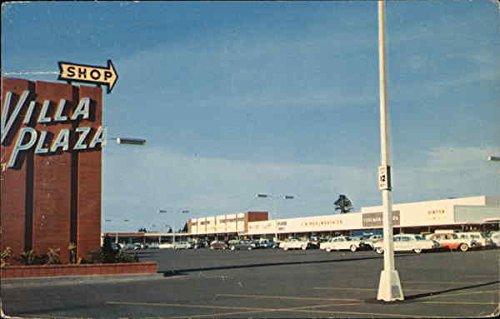 Villa Plaza Shopping Center Tacoma, Washington Original Vintage - Tacoma Shopping Center