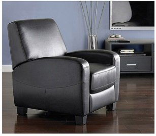Amazon.com: Mainstays Home Theater Sillón Reclinable, push ...