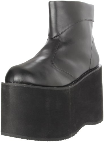 Funtasma by Pleaser Men's Halloween Monster-02,Black Polyurethane,L (12-13 M US) - Costumes Platform Boots