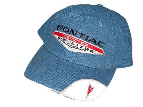 Pontiac GTO Men's Hat with 6.5 Logo (Pontiac Hat)
