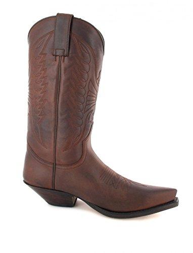 Sendra Boots Stiefel 2073 Braun-7004 Westernstiefel Cowboystiefel