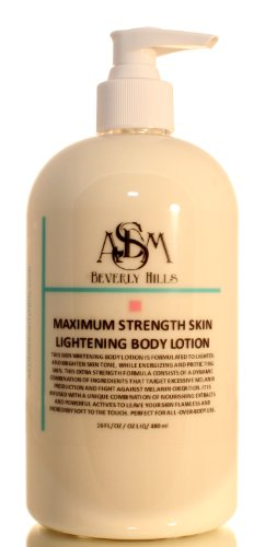 Skin Maximum Strength Corporel Eclaircissant 8oz la lotion, sans hydroquinone