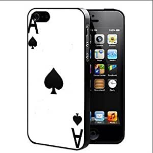 Ace Of Spades Hard Snap On Cell Phone Case Cover (iPhone 4 4s)