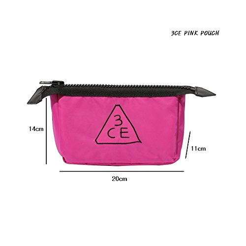 3CE Pouch Makeup Pouch Bag Travel Cosmetic Bags #Pink K-beau