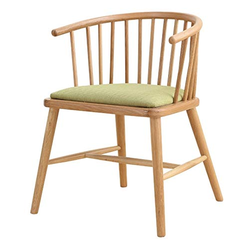 テーマレストラン無垢材ダイニングチェア洋食レストランのテーブルと椅子デザートショップティーショップシンプルな椅子デザイナーチェア交渉テーブルと椅子 B07R29QRS7