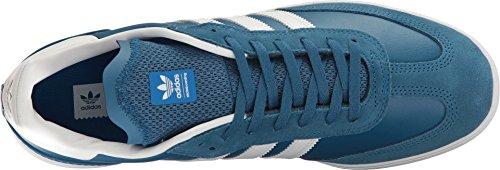 adidas Skateboard Herren Samba ADV Core Blue / Schuhe Weiß / Bluebird
