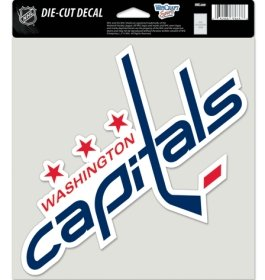 Wincraft Washington Capitals Die-Cut Decal - 8x8 Color